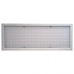 Műanyag szellőzőrács Dalap ND 950x350 (958X362 mm)