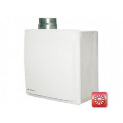Radiális vertikális ventilátor - időzítő, páraérzékelő és tűzvédelemmel Vents VNV-1 80 KP