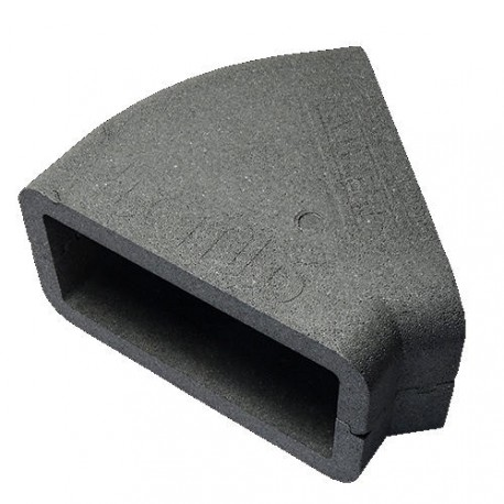 Szögletes könyökidom szigetelés DALAP TI555 45° (204x60 mm)