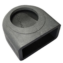 Szögletes könyökidom szigetelés DALAP TI961 90° (220x90 mm)