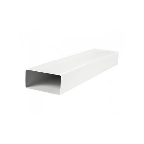 Szögletes csővezeték DALAP 8010 PVC (204x60mm/1m)