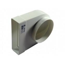 Átalakító idom Dalap 823 (150mm/204x60mm/90°)