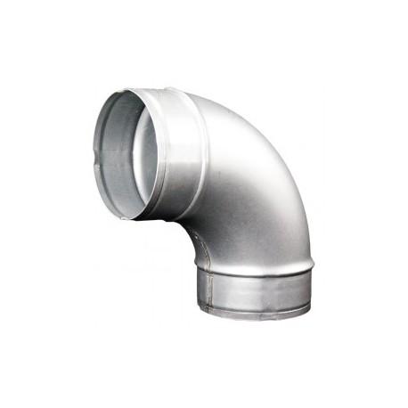 Galvanizált fém könyökidom DALAP EP 90°/80mm