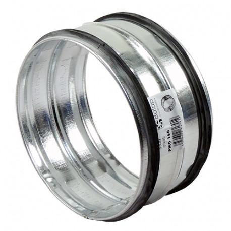 DALAP PM 80 fém belső toldó idom préselt gumi tömítéssel (80 mm)