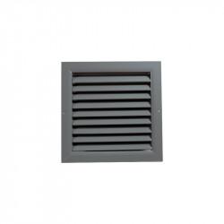 Szellőzőrács minőségi préselt alumíniumból - 300x300 mm, szürke