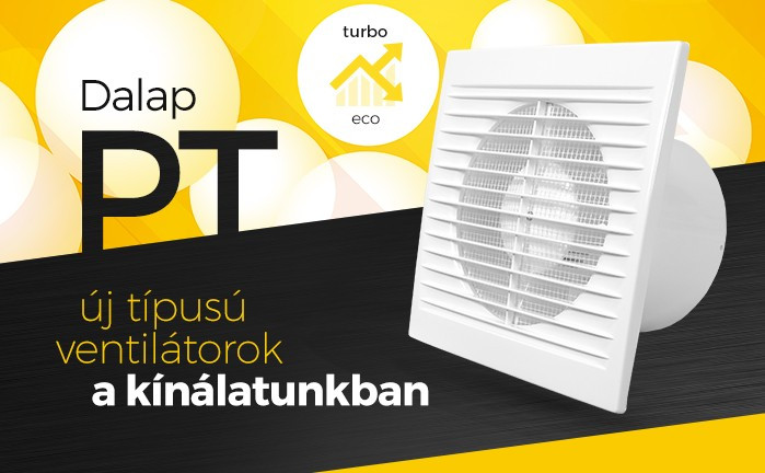 Fürdőszobai ventilátorok Dalap PT